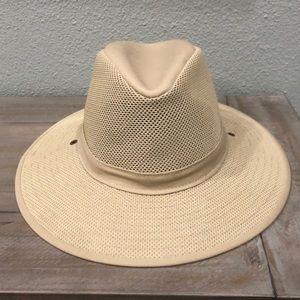 Henschel Hat Co USA Mesh Wide Brim Hat